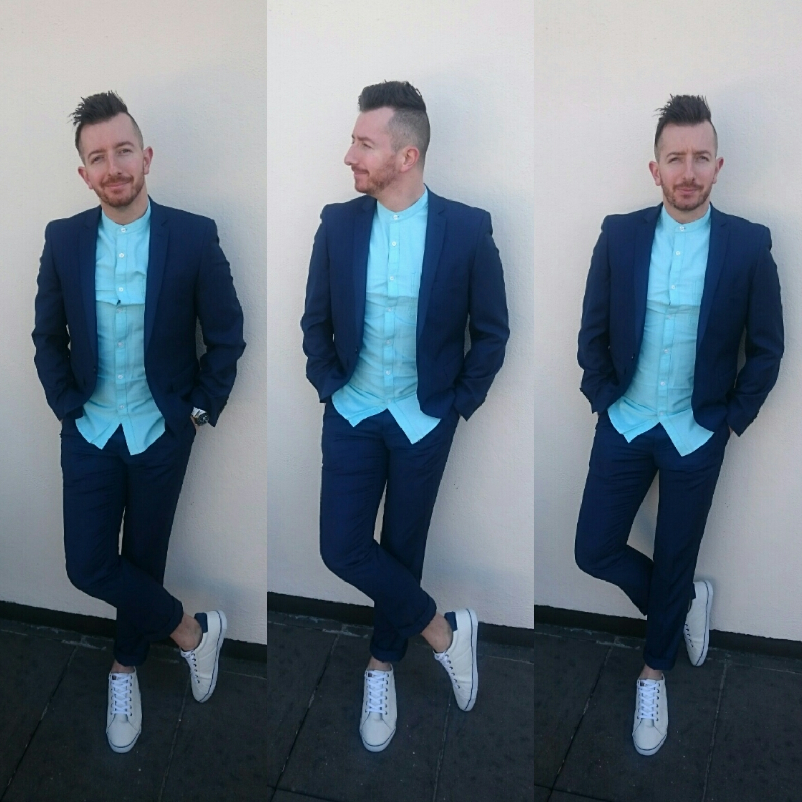 HOW TO WEAR A SUIT AND TRAINERS – Fashionable Frank